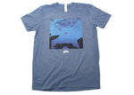 Vignettes Album Cover (Premium T-Shirt - Lake Blue)