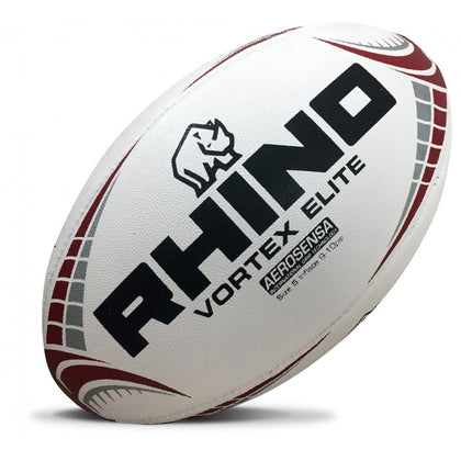 Rhino Vortex Elite Match Rugby Ball