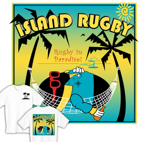 Island Rugby in Paradise T-shirt