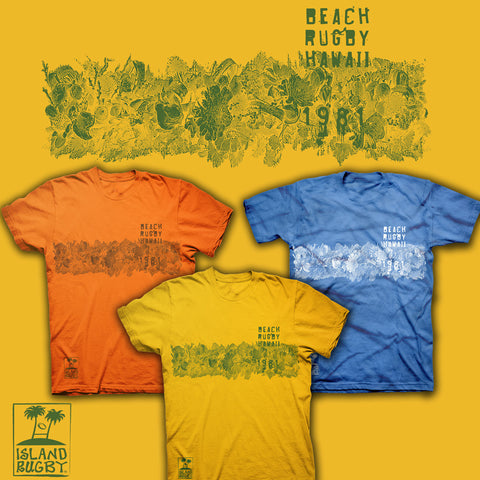 Beach Rugby Hawaii 1981 Rugby T-shirt