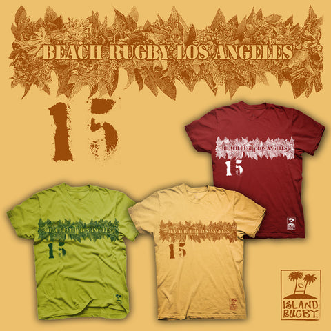 Beach Rugby Los Angeles T-shirt