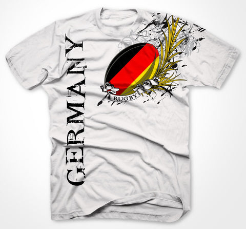 Germany Rugby BIG PRINT t-shirt