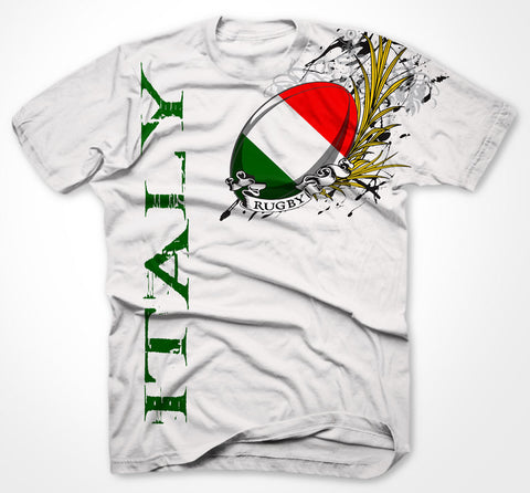 Italy Rugby BIG PRINT t-shirt