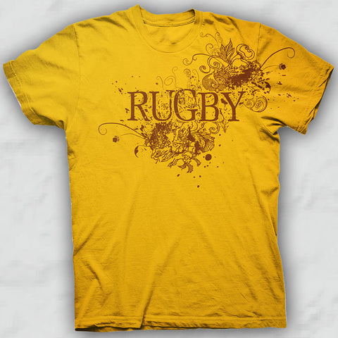 Gold Rugby Fashion T-shirt