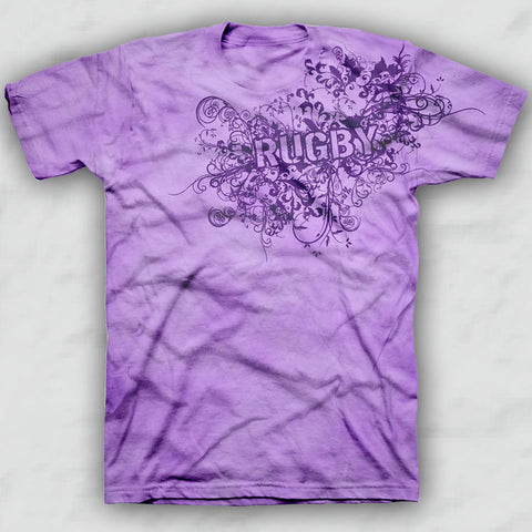 Orchid Rugby Fashion T-shirt