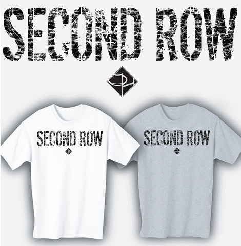 Second Row Rugby Position T-shirt