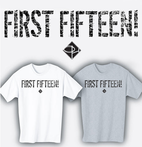 First Fifteen Rugby Position T-shirt