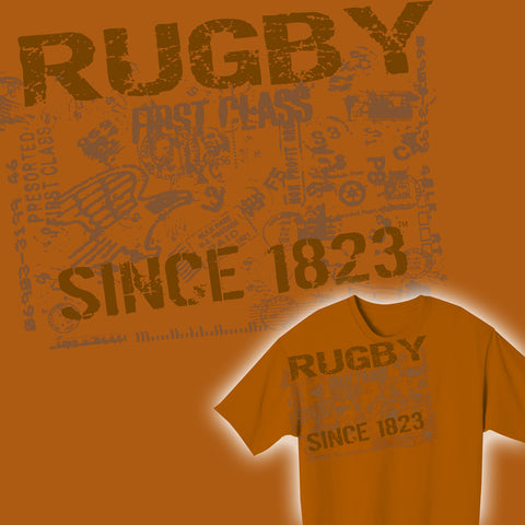 Rugby Since 1823 Retro T-shirt