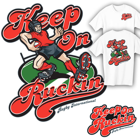 Keep On Ruckin Rugby T-shirt