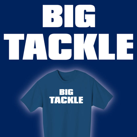 BIG TACKLE Rugby T-shirt