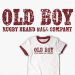 Old Boy Rugby Ball Company T-shirt