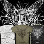 Rugby / Gothic Wings T-shirt