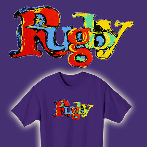 Painted Rugby T-shirt