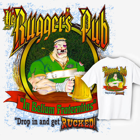 Rugger's Pub Rugby T-shirt