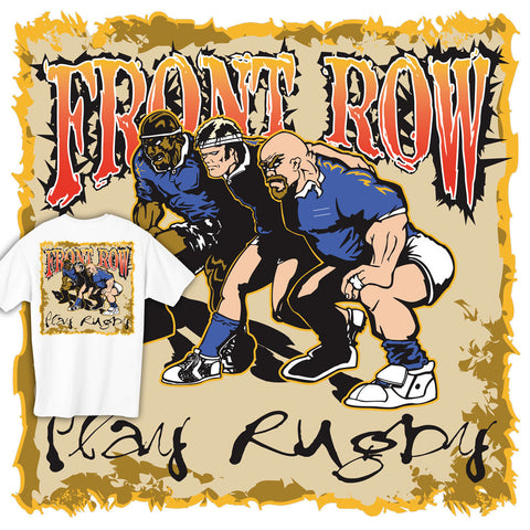 Front Row Rugby T-shirt