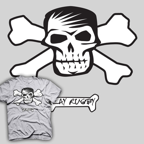 Play Rugby Skull & Crossbone Rugby T-shirt