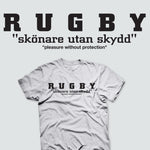 Rugby Pleasure Without Protection T-shirt