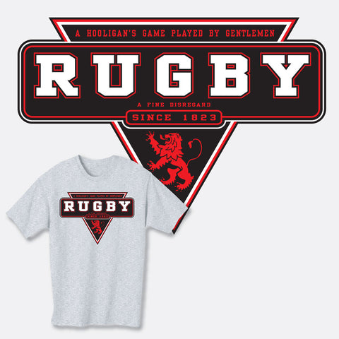 Rugby Since 1823 / Hooligans T-shirt