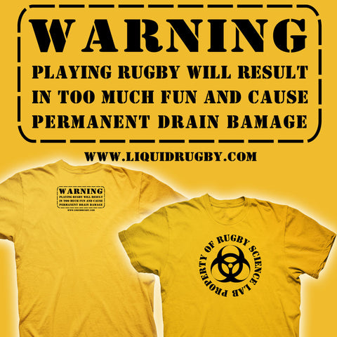 Property of Rugby Science Lab T-shirt