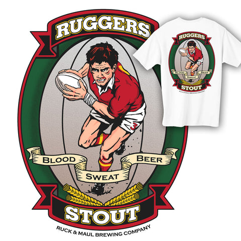 Ruggers Stout Rugby T-shirt