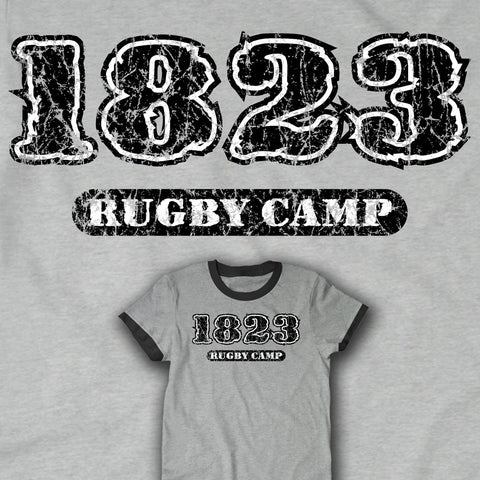 1823 Rugby Camp T-shirt