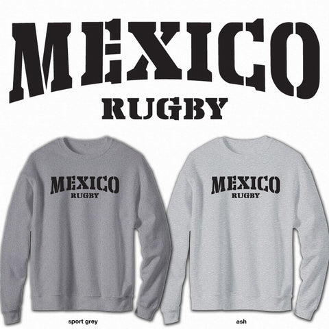 Mexico Rugby - Crew Neck Sweatshirt