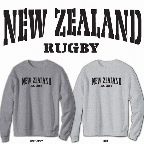 New Zealand Rugby - Crew Neck Sweatshirt