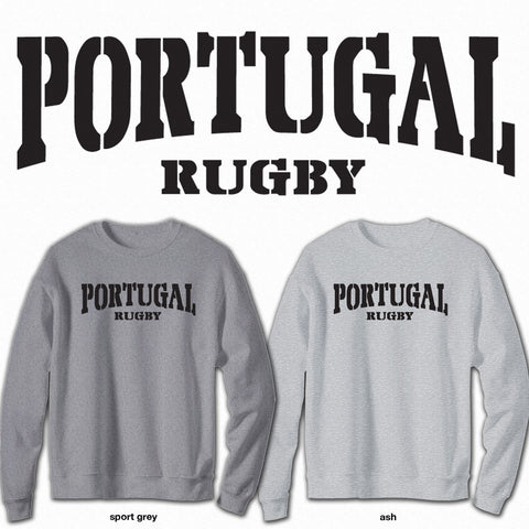 Portugal Rugby - Crew Neck Sweatshirt