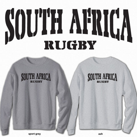 South Africa Rugby - Crew Neck Sweatshirt