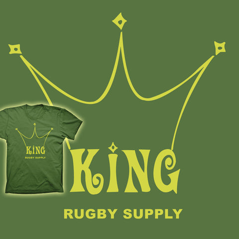 King Rugby Supply Co. Vintage Rugby T-shirt