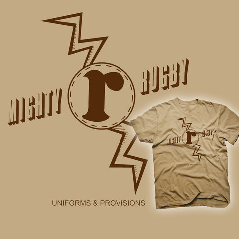 Mighty Rugby Uniforms - Retro Rugby T-shirt