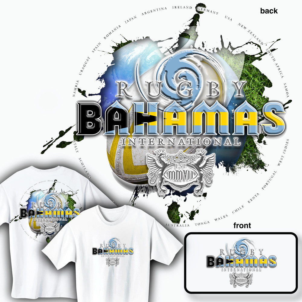 Rugby Bahamas International T-shirt