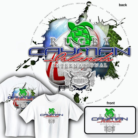Rugby Cayman Islands International T-shirt