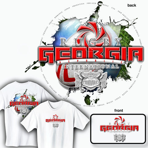 Rugby Georgia International T-shirt