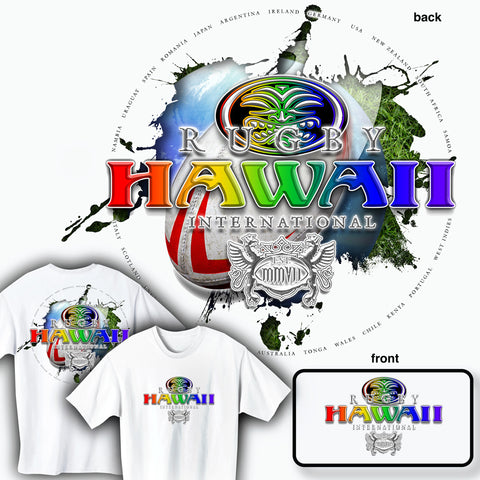 Rugby Hawaii International T-shirt