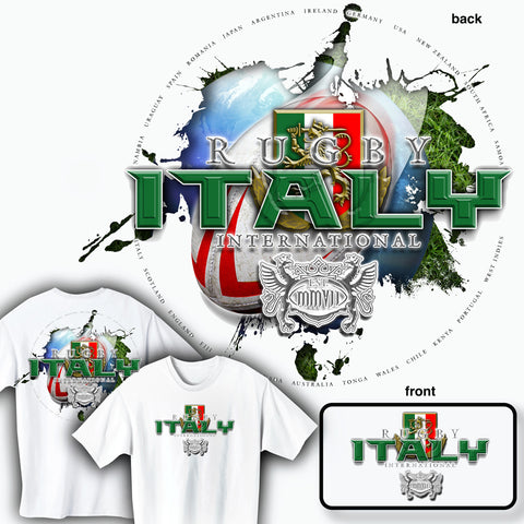 Rugby Italy International T-shirt