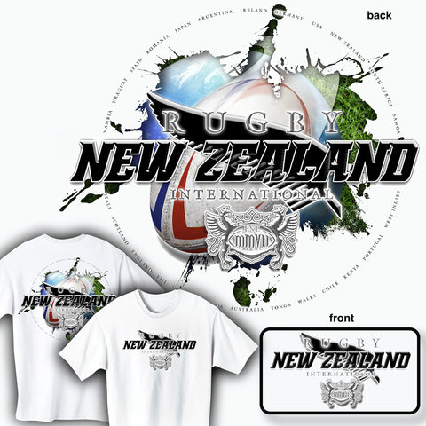 Rugby New Zealand International T-shirt