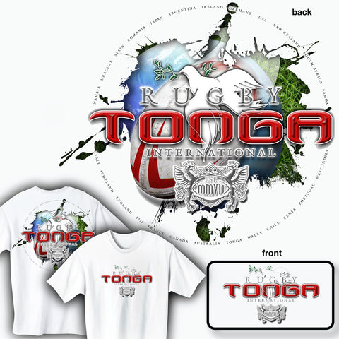 Rugby Tonga International T-shirt