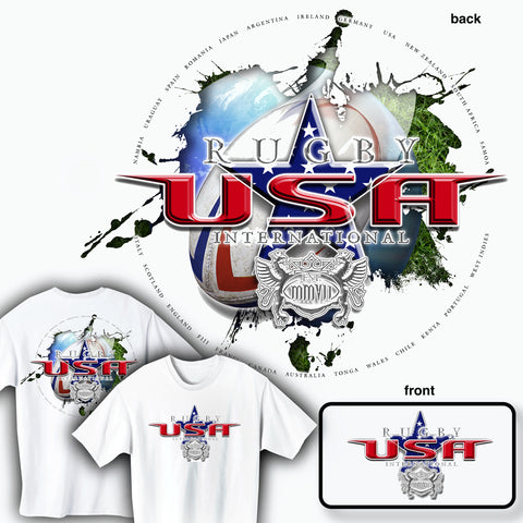 Rugby America International T-shirt