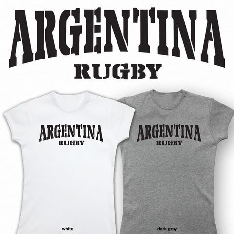 Ladies Argentina Rugby T-shirt