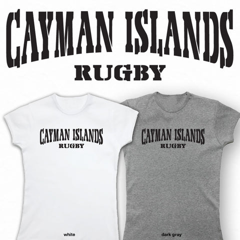 Ladies Cayman Islands Rugby T-shirt