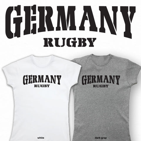 Ladies Germany Rugby T-shirt