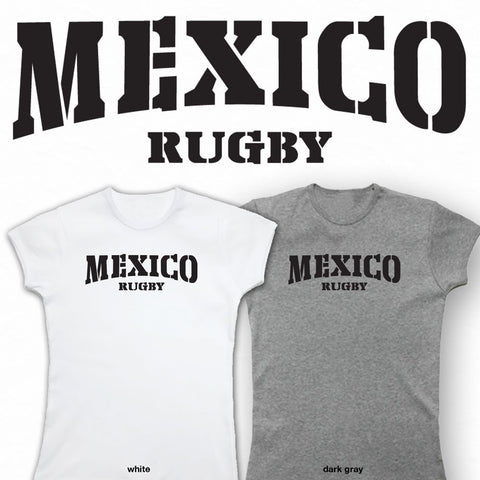 Ladies Mexico Rugby T-shirt