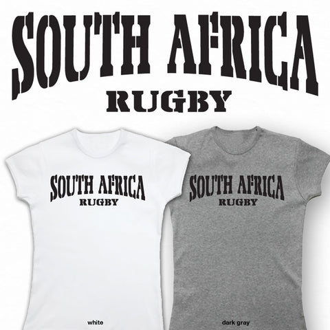 Ladies South Africa Rico Rugby T-shirt