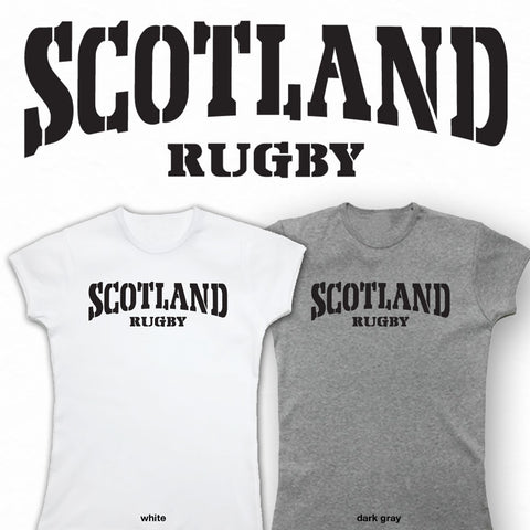 Ladies Scotland Rico Rugby T-shirt