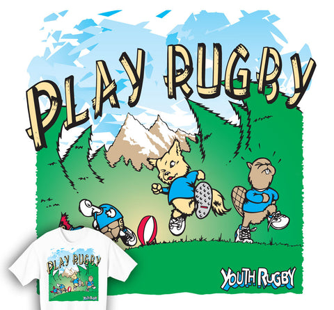 Play Rugby Youth T-shirt