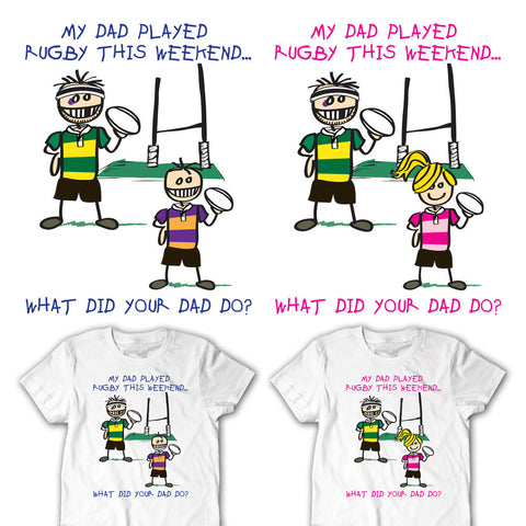 Mommy's Little Rugger Youth Rugby T-shirt