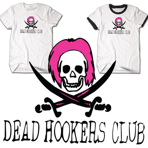 Dead Hookers Club Rugby T-shirt