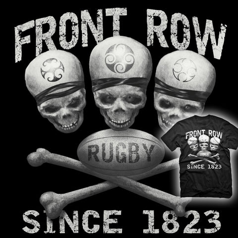 Front Row / Rugby Since 1823 T-shirt