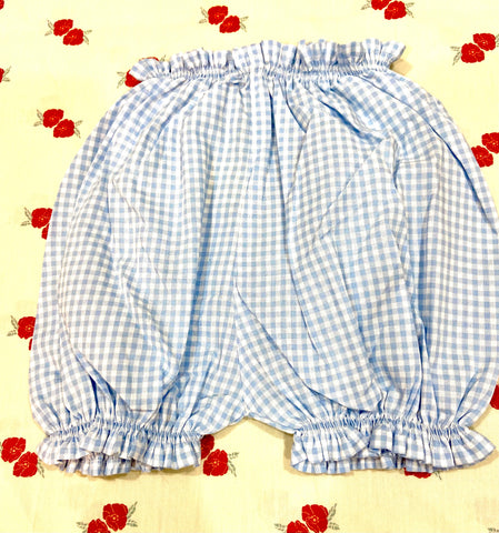 Vichy Bloomers / Light Blue